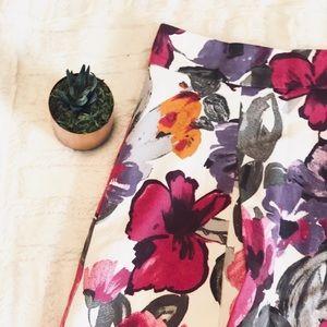 H&M floral skirt • 8